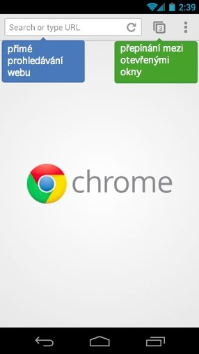 Chrome pro Android
